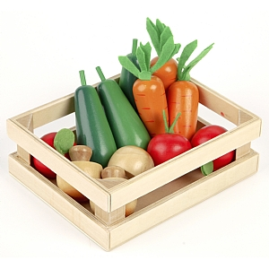 Wooden Winter Vegetables
