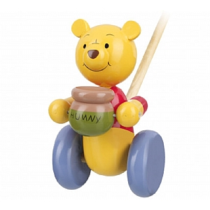 Push Along Wooden Winnie The Pooh