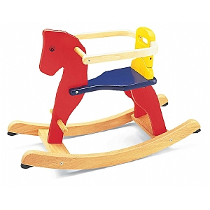 Baby's Wooden Rocking Horse