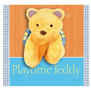 Playtime Teddy Hand Puppet Book