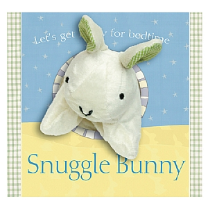 Snuggle Bunny Hand Puppet Book