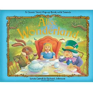 Alice in Wonderland 3D Pop-Up Book with Sounds
