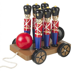 Soldier Skittles on Wheels