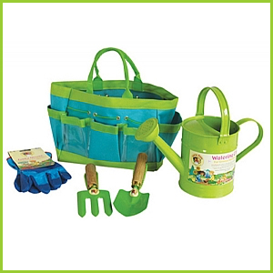 Garden Tools & Watering Can Kit