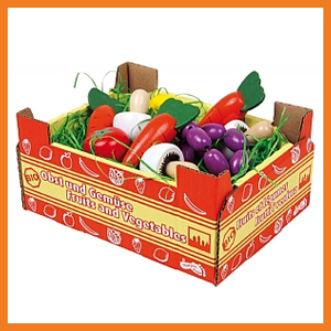 Pretend Play Vegetables