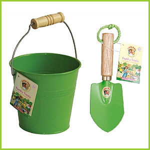 Green Bucket and Trowel Kit