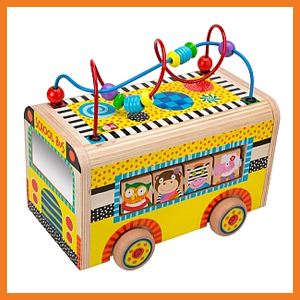 Rolling Busy Bus Activity Toy