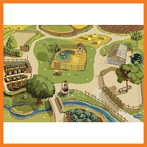 Papo Farm Play Mat