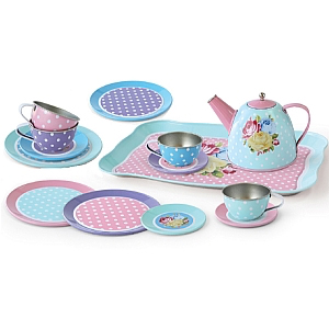 Rose Tea Set - 15 Pieces