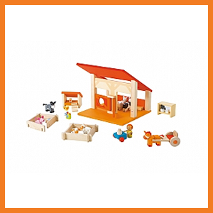 Sevi Wooden Farm Play Set