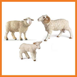 Papo Set of 3 Sheep