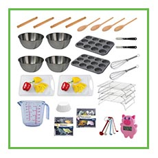 Cookery Untensil Pack for School Cooking Clubs