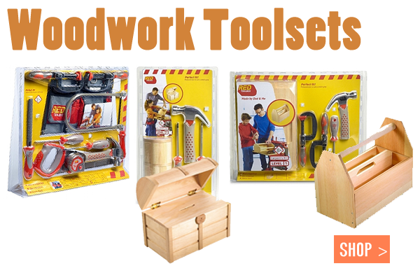 Carpentry Tools & Workbench Play Sets