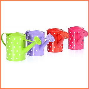Kids Polka Dot Watering Can
