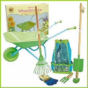 Gardening Tools & Wheelbarrow